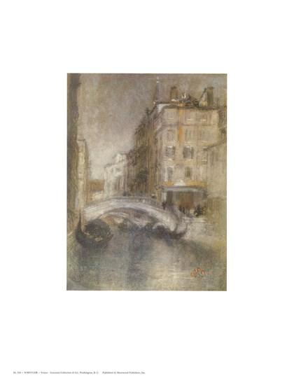 Venice by James Abbott McNeill Whistler art print