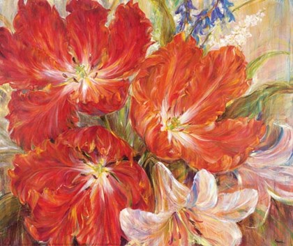 Spring Baroque by Liv Carson art print
