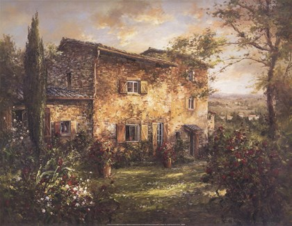 Tuscan Farmhouse art print