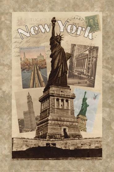 Postcards from New York art print