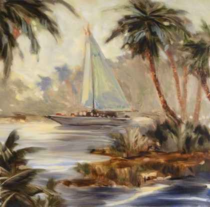 Palm Cove Two by Jeff Surret art print